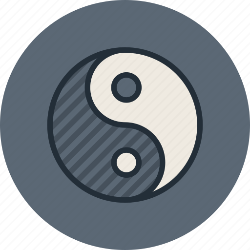 alfa, dialectics, evil, good, omega, philosophy, yin-yang icon