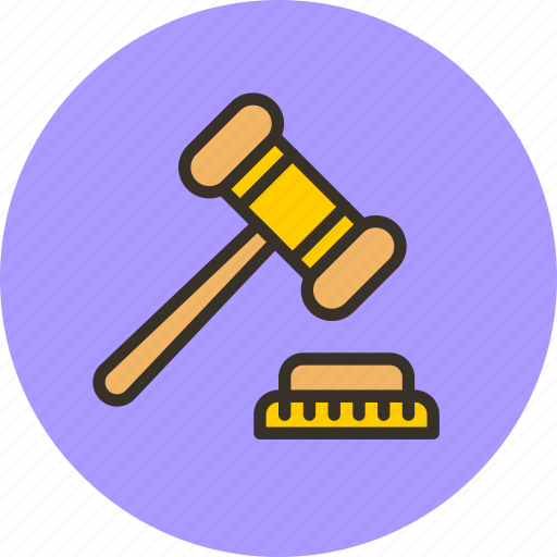 auction, bankrupt, bargaining, closeout, hammer, justice, sale icon