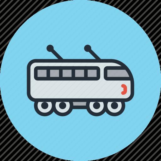 electric, suburban, train icon