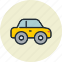 automobile, car, compact, passenger, transport icon