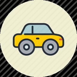 automobile, car, compact, passenger, transport icon