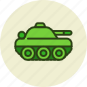 army, compact, military, tank, transport, vehicle icon