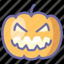 horror, jack, pumpkin icon