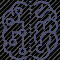 brain, connection, neuro, science icon