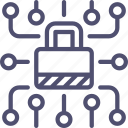 data, lock, locked, password, protected, secure, security icon