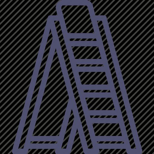 Ladder, stepladder, tools icon - Download on Iconfinder