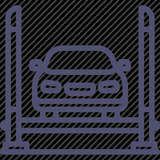 auto, car, maintenance, repair, service, transport icon