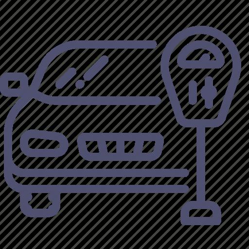 Car, machine, meter, parking, transport icon - Download on Iconfinder