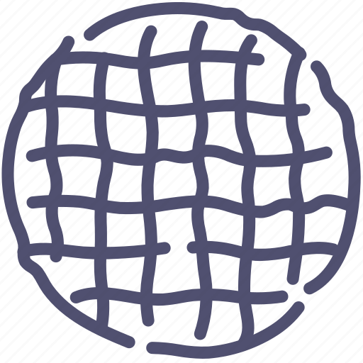 baking, viennese, waffle icon