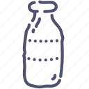 bottle, milk icon