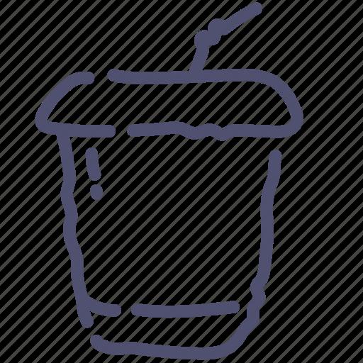 drink, soda, takeaway icon