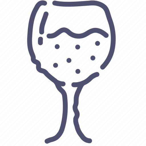 drink, glass, sparkling icon