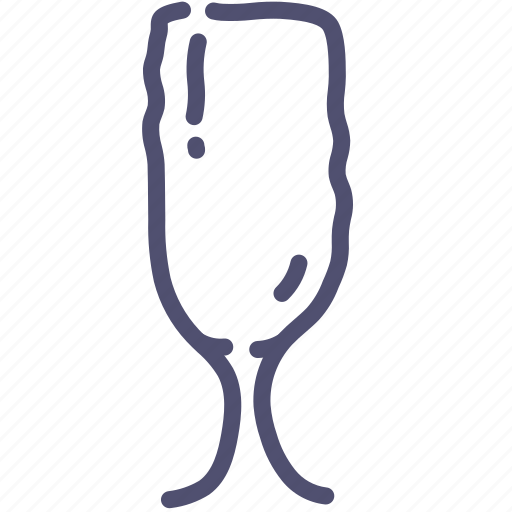 champagne, glass, goblet icon
