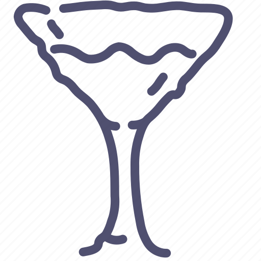 drink, glass, martini icon