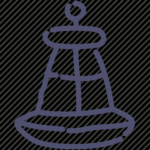 buoy, nautical, water icon