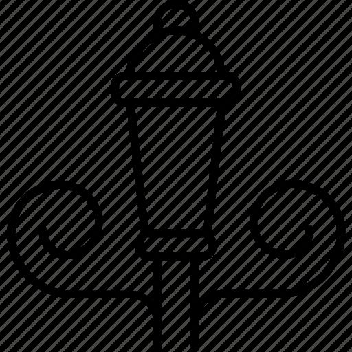 kingdom, lantern, light, street, united icon