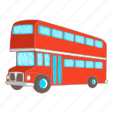 bus, decker, double, transport icon