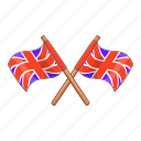 britain, country, flag, great icon