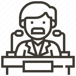 avatar, speaker, speaking, speech icon