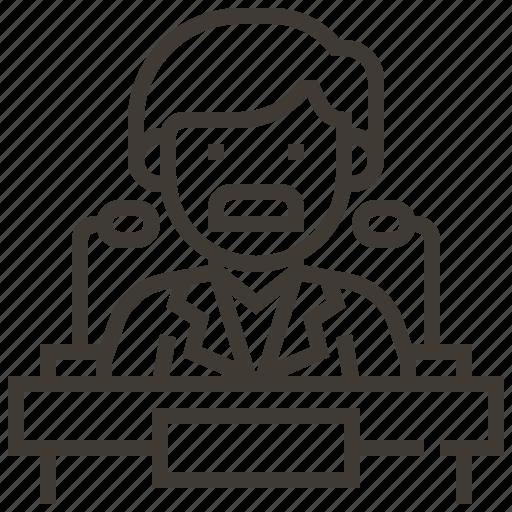 Avatar, speaker, speaking, speech icon - Download on Iconfinder