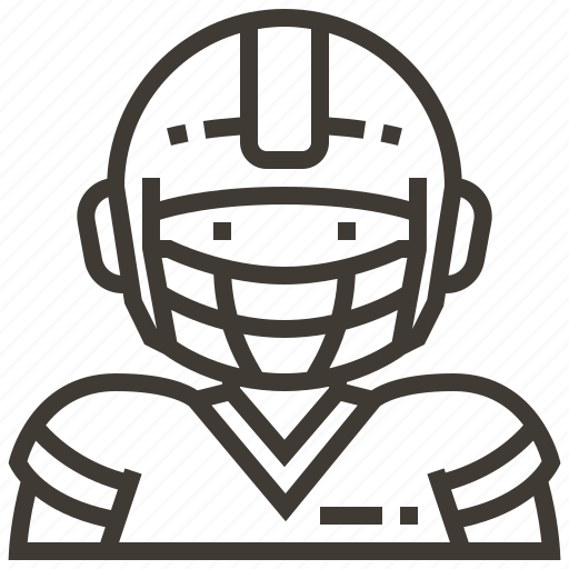 Avatar, boy, football, football player, man icon - Download on Iconfinder