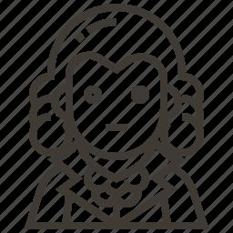 avatar, george washington, man, president, united states of america icon
