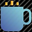 coffee, cup, hot, tea