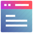 browser, open, web application, webpage, website