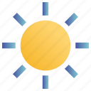 day, daylight, hot, sun, sunny, sunny day, weather icon