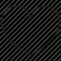 award, bookmark, favorite, heart, like, love, valentine icon
