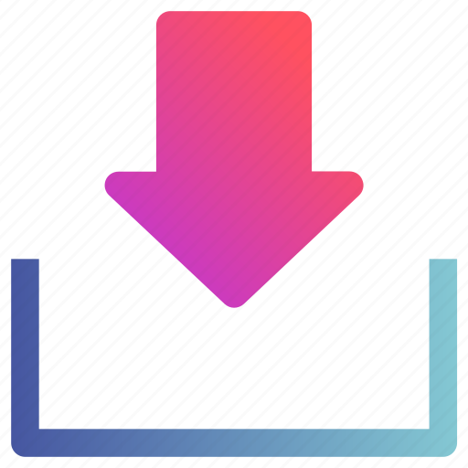 Arrow, download, guarder, save icon - Download on Iconfinder
