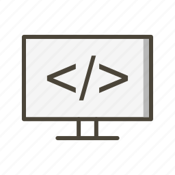 code, development, programming icon