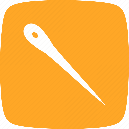 needle, sewing, thread icon