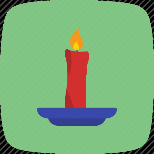 birthday, candle, decoration icon