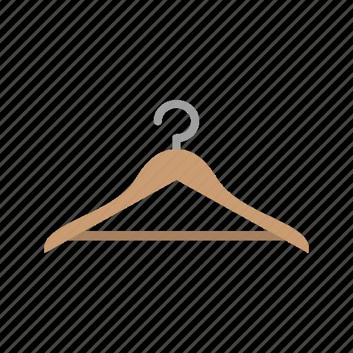 cloths, hang, hanger icon