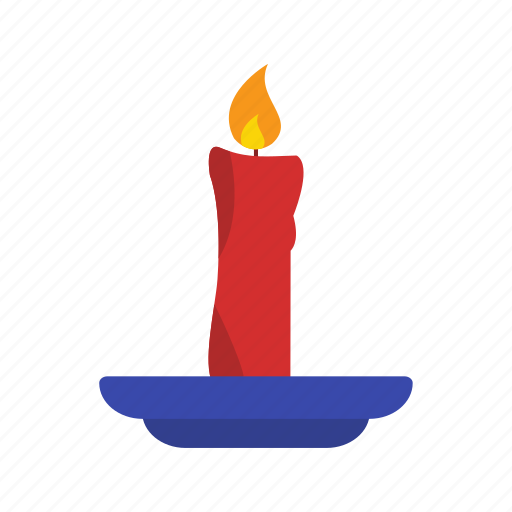 birthday, candle, decoration icon