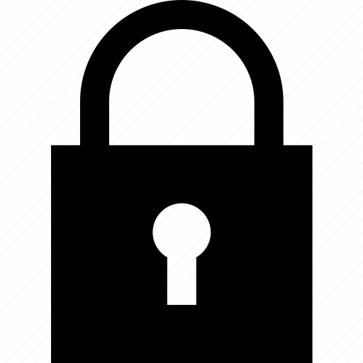closed, lock, locked, padlock, safety, secure, security icon