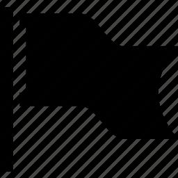 destination, flag, goal, important, mission icon