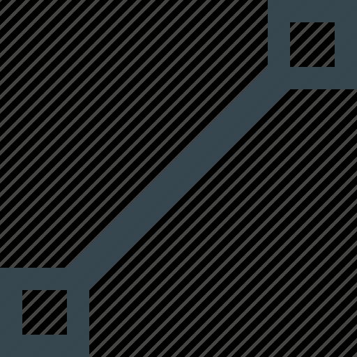 graphics, grid, line, path, shape, tool icon
