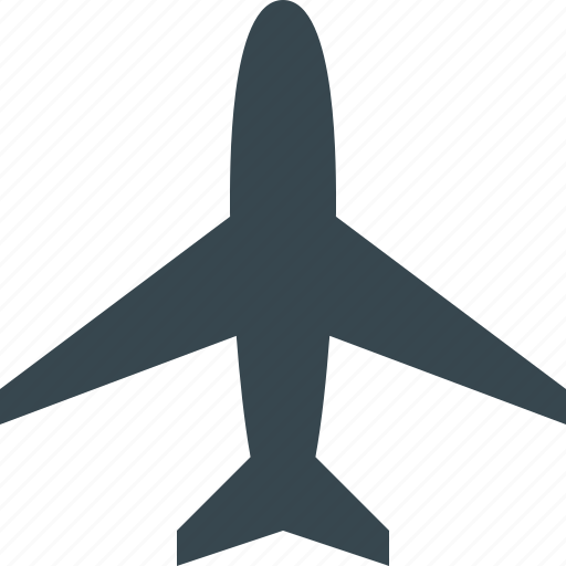 aeroplane, air, aircraft, airplane, airport, plane, travel icon