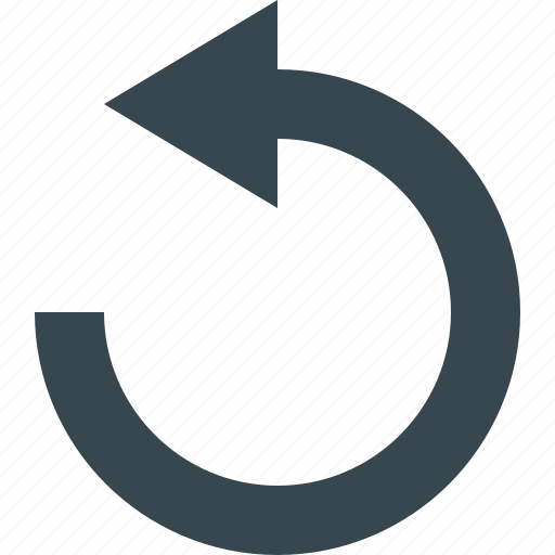 around, arrow, configuration, revolve, rotate, tool, turn icon