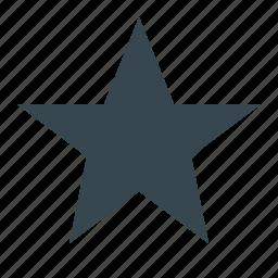 achievement, award, badge, best, favorite, star, trophy icon