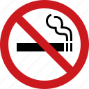 ban, cigarette, forbidden, no, smoking, tabacco icon