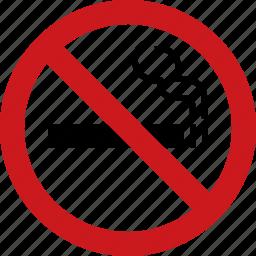 ban, cigarette, forbidden, no, smoking, tabacco icon