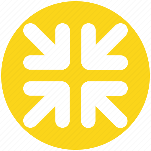 Arrow, arrows, corner, four, pointer icon - Download on Iconfinder
