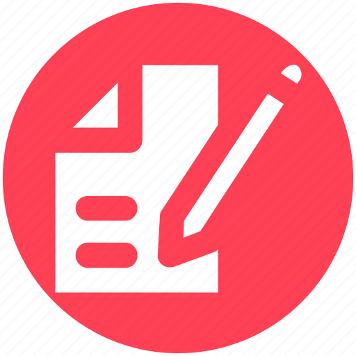 And pencil, page, paper, pencil, sheet icon - Download on Iconfinder