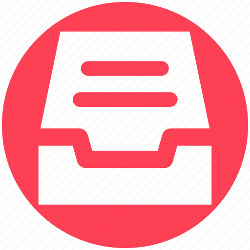 Achieve, attachment, documents, draw, files, folder icon - Download on Iconfinder