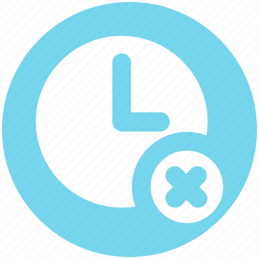 alarm, circle, clock, cross, hours, watch icon