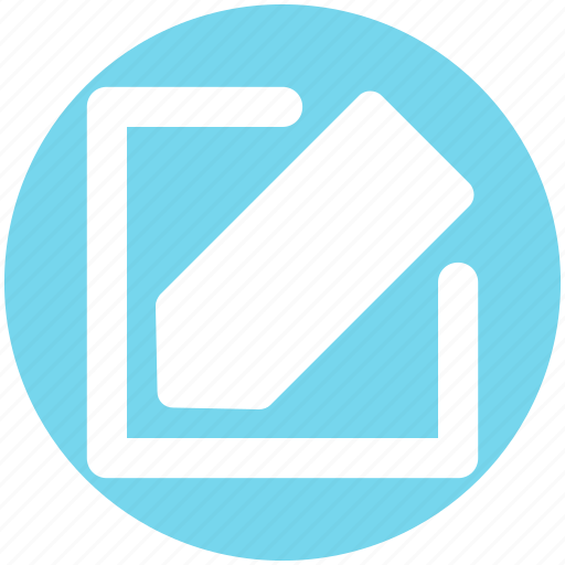 Edit, paper writing, pen, pencil, write, writing icon - Download on Iconfinder