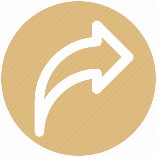 Arrow, back, direction, right, right arrow icon - Download on Iconfinder